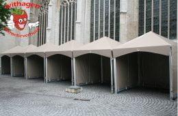 Piramidetent 3 x 3 meter
