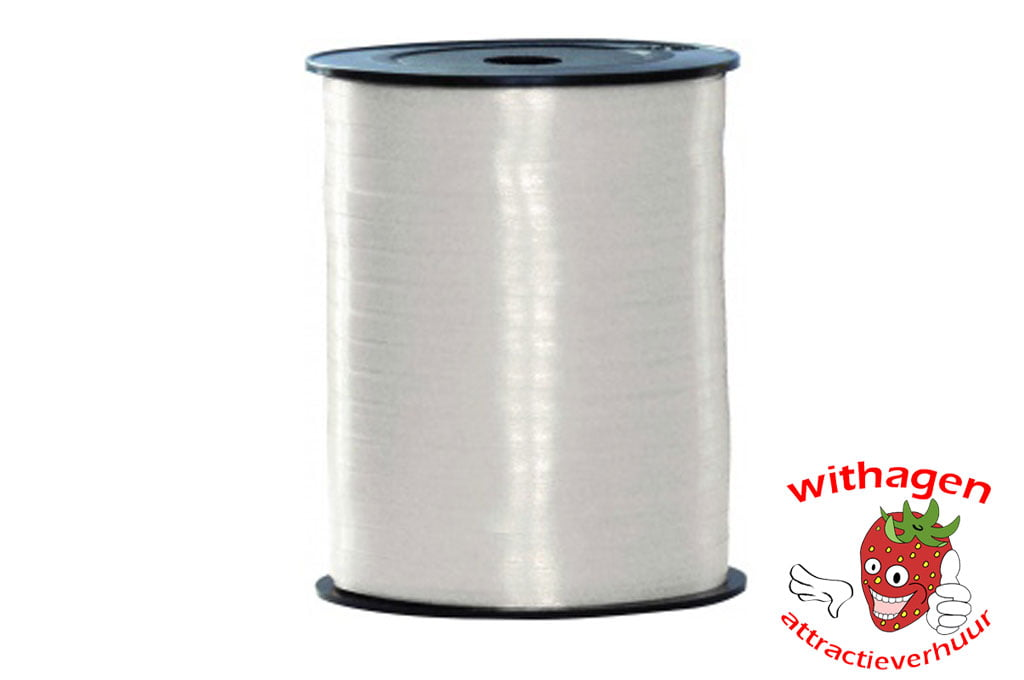 Polyband 500m x 5mm wit