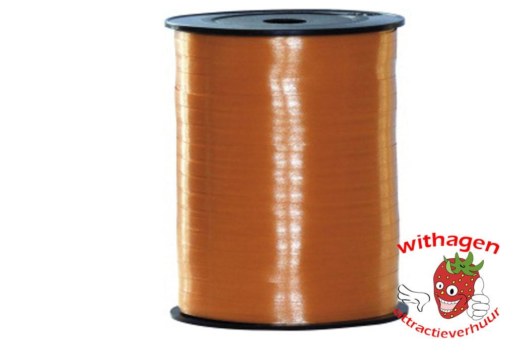 Polyband 500m x 5mm oranje