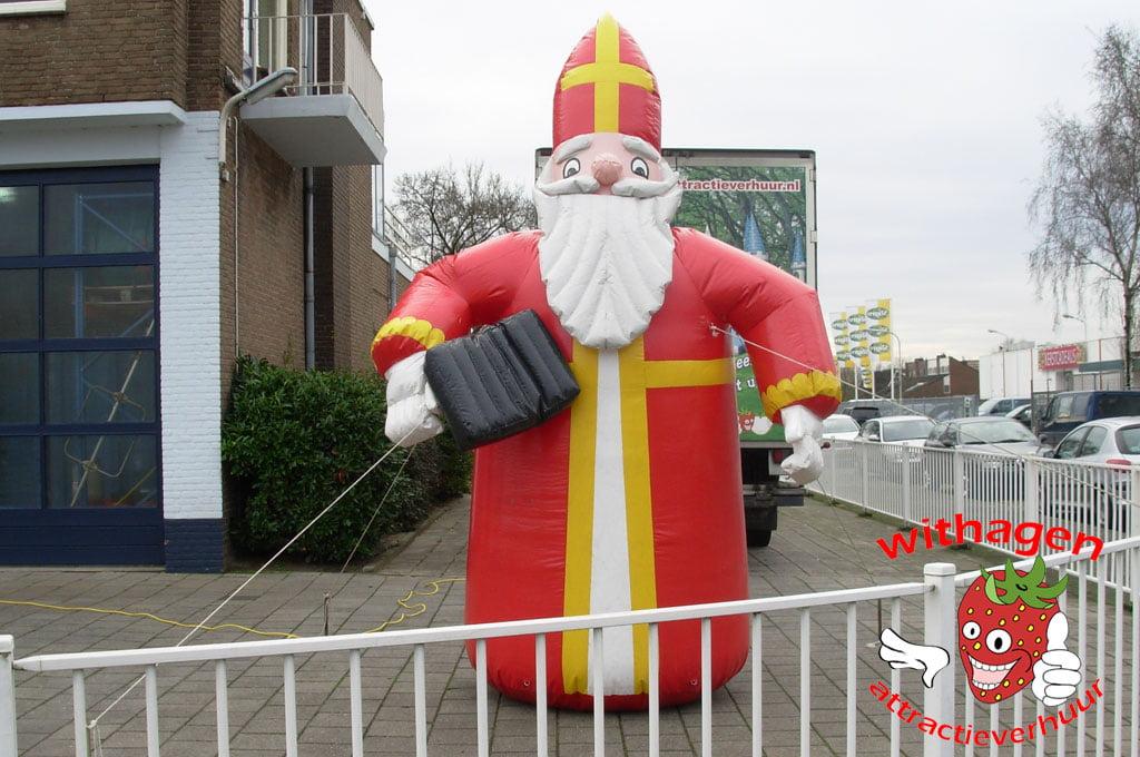 Sinterklaas opblaasbaar