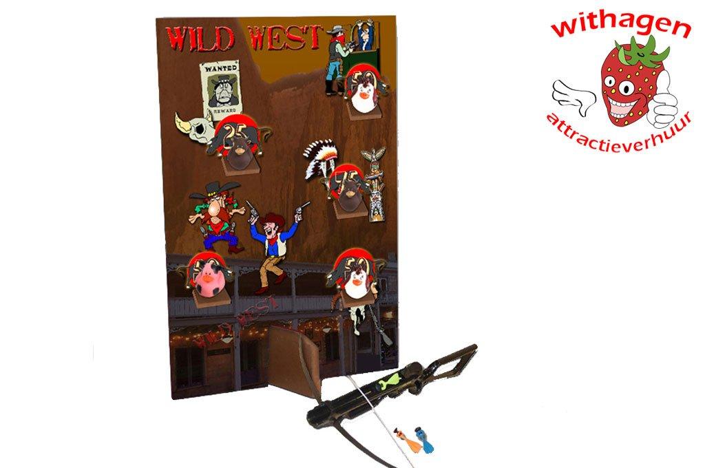 Wild west western schietspel