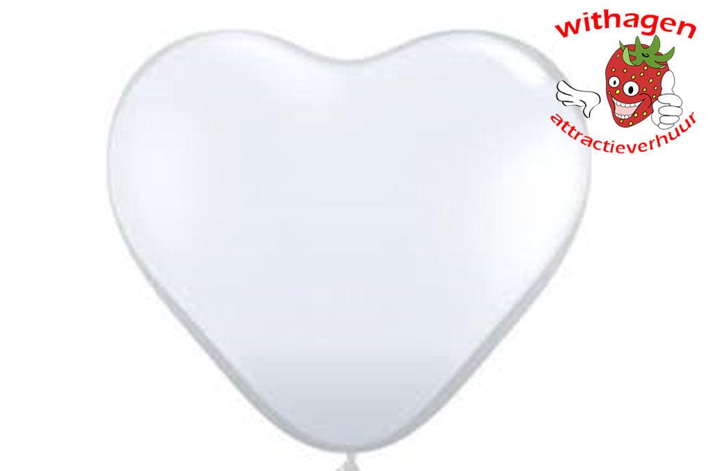 Heliumballon Hart Diamant 90 cm