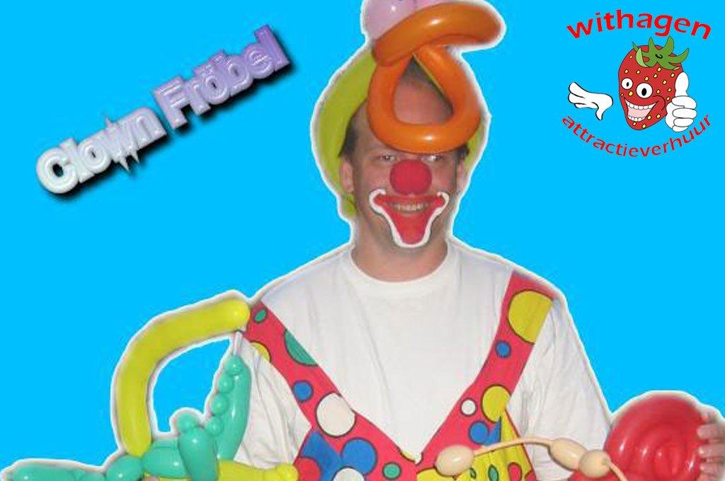 Ballonen clown Fröbel
