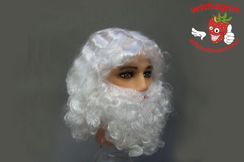 Kerstman pruik