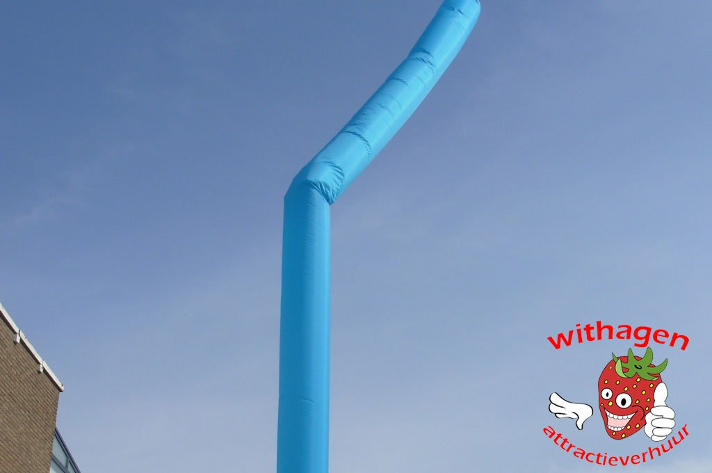 Sky-tube licht blauw