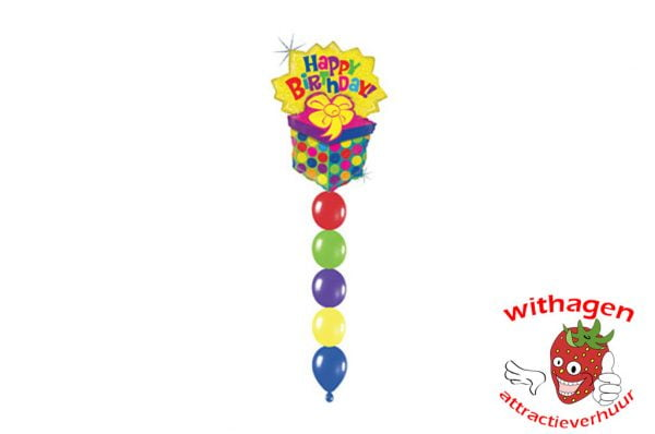 Helium Ballon Bursting Present