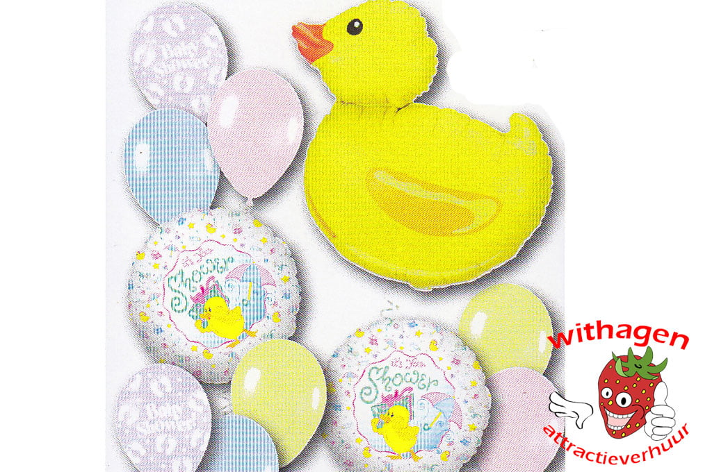 Helium Ballon Baby Shower Ducky Standard