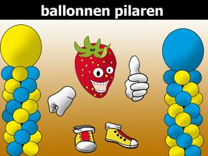 Ballonnen pilaren
