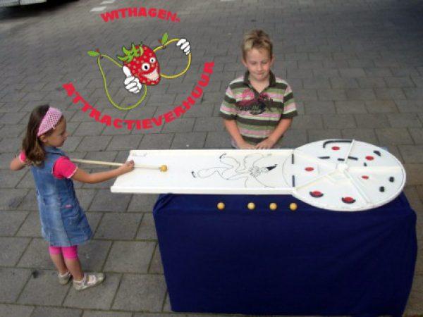 Biljartspel ronde tafel