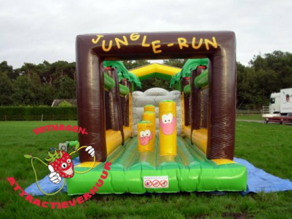 Jungle run obstakelbaan