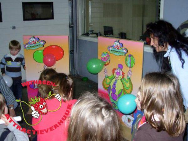 Ballonnen pompen race huren