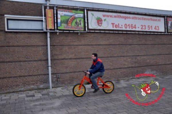 Hobbel waggel fiets huren
