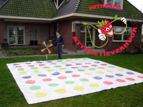Twister vloerkleed