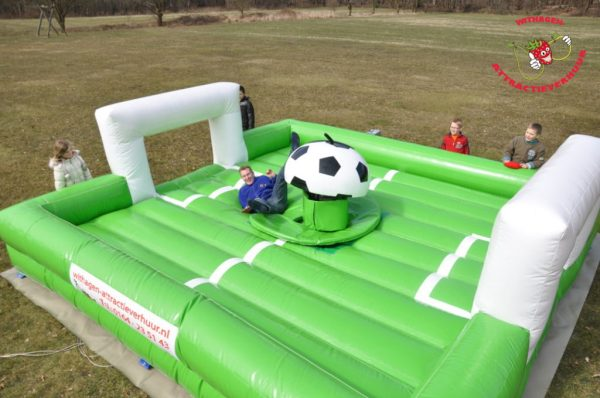 Voetbal rodeo