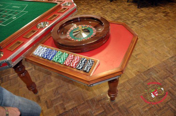 Roulette tafel uitklapbaar