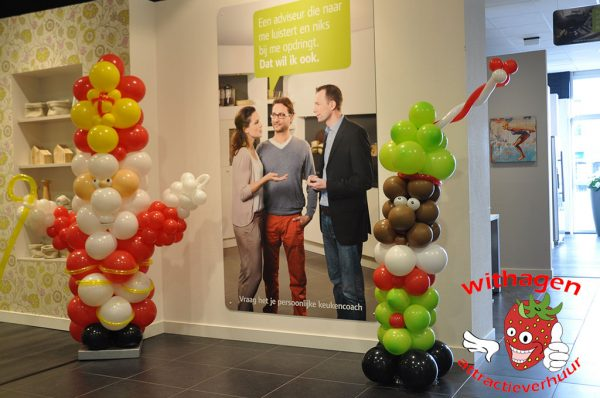 Ballonnenfiguur Sinterklaas
