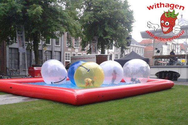 Water ballen huren Bergen op Zoom