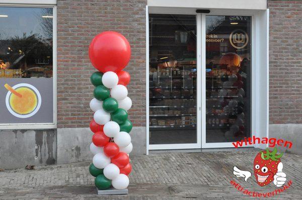 Opening Winkel Spar ballonpilaar