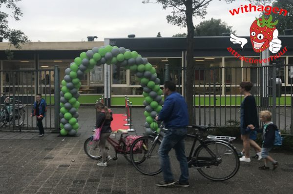 Ballonnenboog voor ingang
