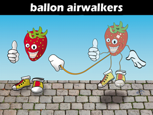 Ballon airwalkers
