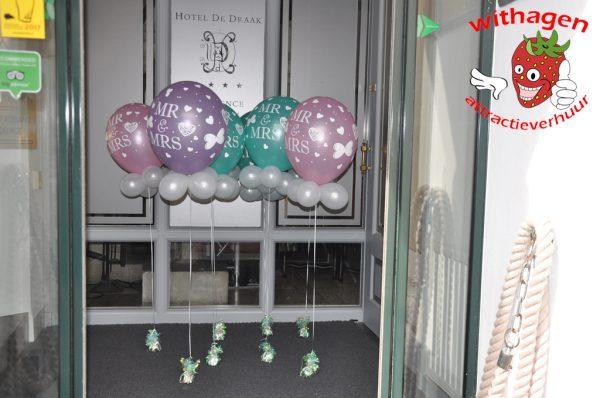 ballonnen tafeldecoratie