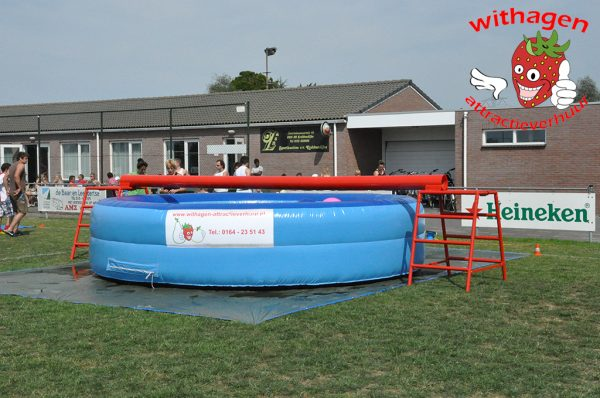 Evenwichtsbalk zwembad