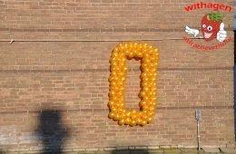 balloncijfer 0