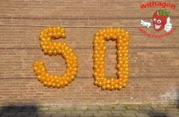 balloncijfer 50