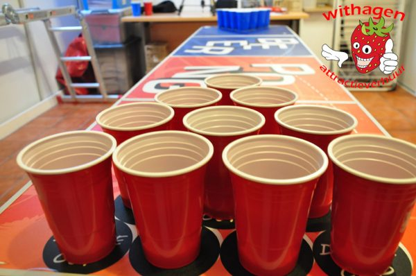 Beer Pong Bekers
