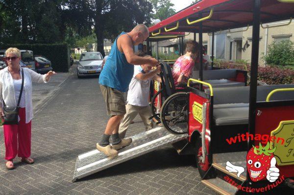 Rolstoel vervoer