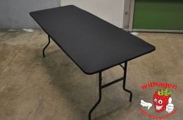 buffettafel topcover zwart stretch