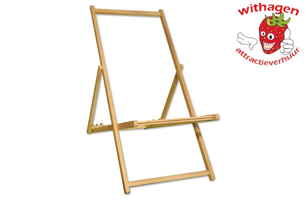 Strandstoel Met Houten Frame.Strandstoel Frame
