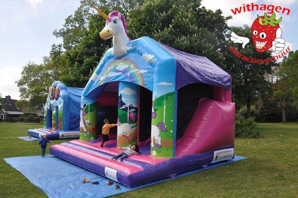 Unicorn springkussen voor kinderen