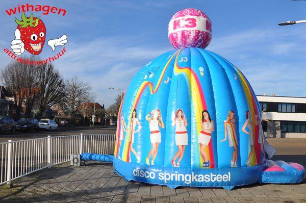 K3-disco-springkussen
