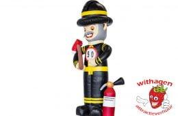 Abraham brandweer man