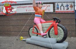 feestpop wielrenster